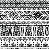 Abstract tribal pattern Stock Image