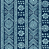 Abstract tribal pattern Royalty Free Stock Image