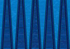 Abstract tribal pattern wallpaper Royalty Free Stock Image