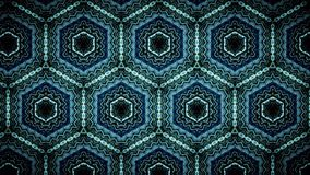 Abstract Tribal Pattern Wallpaper Zigzag Blue And Green Color Background Stock Photos