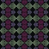 Abstract Tribal vintage ethnic paisley seamless pattern Stock Images