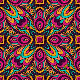 Abstract Tribal vintage ethnic seamless pattern. Ornamental Stock Images