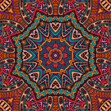 Abstract Tribal vintage ethnic seamless pattern Stock Photos