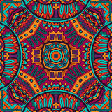 Abstract Tribal vintage ethnic seamless pattern ornamental Stock Images
