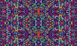 Abstract Tribal vintage ethnic seamless pattern ornamental stock photo