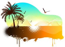Abstract tropical background Stock Image