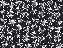 Abstract tropical floral seamless pattern. For surface design. decorative simple modern flower reparable motif Stock Photos