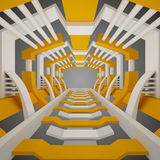 abstract tunel royalty ilustracja