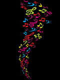 Abstract tunes background Stock Photos