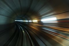 Abstract tunnel. Abstract high-tech tunnel Stock Photos
