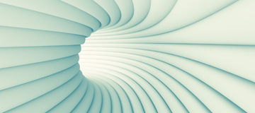 Abstract Tunnel Background. 3d Illustration of Blue Abstract Tunnel Background Royalty Free Stock Photography