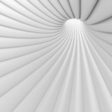 Abstract Tunnel Background. 3d Abstract Tunnel Background. White Circular Building Stock Images