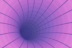 Abstract tunnel background Stock Image