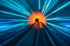 Abstract tunnel backgrounds Royalty Free Stock Image