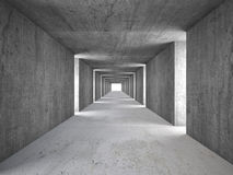 Abstract tunnel Stock Images