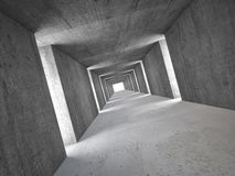 Abstract tunnel Royalty Free Stock Images