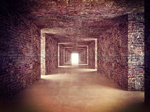 Abstract tunnel Royalty Free Stock Photo