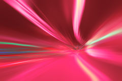 Abstract tunnel lights Stock Photography