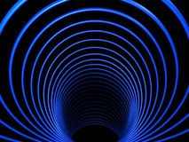 Abstract tunnel with symmetry Stock Image