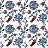 Abstract turkish pattern for your design Stock Photos