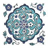 Abstract turkish pattern for your design Royalty Free Stock Photo