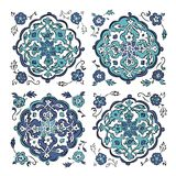 Abstract turkish pattern for your design Royalty Free Stock Images
