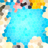 Abstract turquoise background Stock Photography