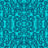 Abstract turquoise seamless pattern Stock Photos
