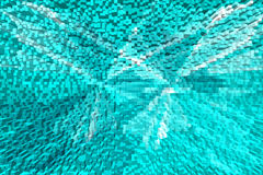 Abstract turquoise textured background. Stock Images