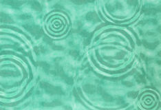 Abstract turquoise water ripple Royalty Free Stock Photography