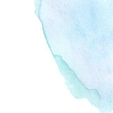 Abstract Turquoise Watercolor background.  Royalty Free Stock Image