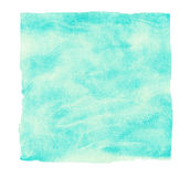 Abstract turquoise watercolor background. Stock Image