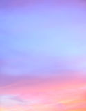 Abstract twilight sky background Stock Photos