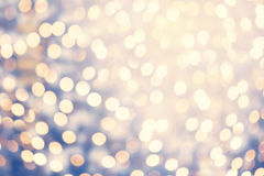 Abstract twinkled bright background with natural bokeh defocused Stock Photo