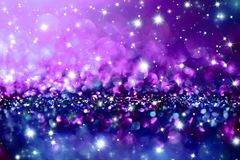 Christmas twinkle glitter background Royalty Free Stock Image