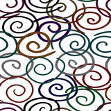 Abstract twist-line background. Seamless. Stock Image