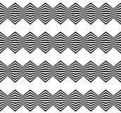 Abstract twisted geometric pattern - Seamlessly repeatable edgy Royalty Free Stock Photos