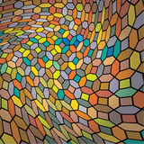 Abstract twisted mosaic Stock Photos