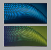 Abstract two backgrounds texture Royalty Free Stock Photos