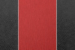 Abstract two color leather. Abstract black and red color leather background Royalty Free Stock Photo