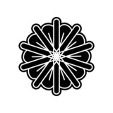 Abstract type of flowers icon. Element of Flower for mobile concept and web apps icon. Glyph, flat icon for website design and. Development, app development on vector illustration