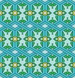 Abstract uitstekend etnisch geometrisch sier naadloos patroon Mandala Design stock illustratie