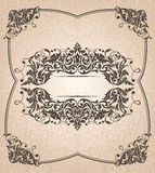 Abstract uitstekend frame Stock Afbeelding