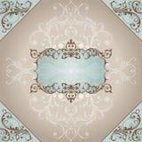 Abstract uitstekend frame Royalty-vrije Stock Afbeelding