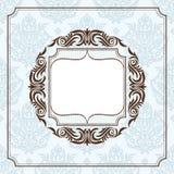 Abstract uitstekend frame Royalty-vrije Stock Foto
