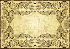 Abstract uitstekend frame Stock Illustratie