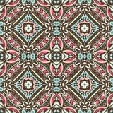 Abstract uitstekend geometrisch tegelspatroon Stock Fotografie