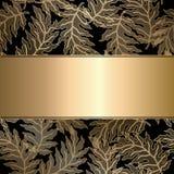 Abstract uitstekend naadloos damastpatroon Stock Afbeelding