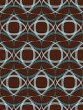 Abstract uitstekend naadloos patroon. Stock Foto's