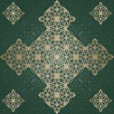 Abstract uitstekend patroon op naadloze achtergrond Stock Afbeeldingen